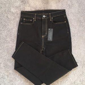 BRAND NEW CARMAR LF black straight legged jeans